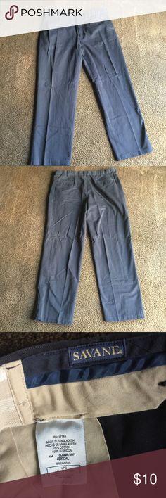 Nice dress pants Navy blue, never worn dress pants 40x34 savane Pants Chinos & Khakis