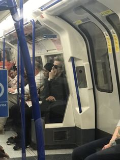 I was on a tube with the most recent Doctor from Doctor Who, Peter Capaldi, today. We made eye contact, we are bff's!!