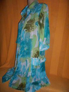 Brecho Online - Belas Roupas: Camisão Cotton Colors