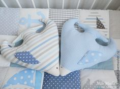 Купить Подушка рыбка - разноцветный, декоративная подушка, море, интерьер для детской, морской стиль