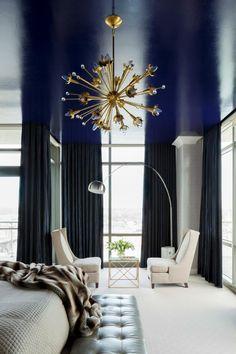 tendance de couleur pour chambre : le bleu