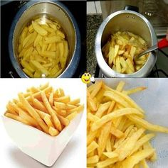 Aprenda fazer a Receita de Batata frita na pressão. É uma Delícia! Confira os Ingredientes e siga o passo-a-passo do Modo de Preparo!