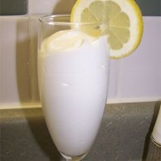Lemon Syllabub -- saw this on an English cop show.  Had never heard of it, but it looks good.