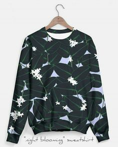 New design!!! A night blooming jasmine vine with spiders hissing throughout. Can find this sweatshirt in the design at my live heroes page.  #sweatshirt #nightbloomingjasmine #night #blooming #design #style #trendy #fashion #plant #nature #natural #design #spider #web #september #sunday #bengeigerart #bengeiger #liveheroes #shop #like #love #fav
