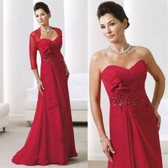 Awesome Red mother of the bride dresses Review