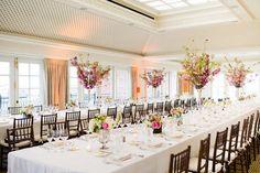 Wedding reception at the Hay-Adams Hotel