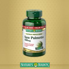 Saw Palmetto is designed to support men's prostate health.* These extra strength, softgels are enhanced with additional nutrients including Zinc, Pumpkin Seed Oil, Pygeum and Uva Ursi.