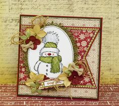 2015 Christmas Penny Black Snowy stamp