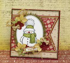 2015 Christmas Penny Black Snowy stamp