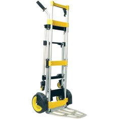 Portable foldable hand truck stabilizing kickback wheels Lightweight aluminum construction Folds flat for easy storage Nose plate dim: x Moving Supplies, Trucks Only, Amazon Sale, Tools And Equipment, Trucks For Sale, Bed Furniture, Cool Tools, Household Items, Consumer Electronics
