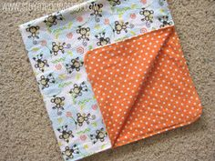 I decided to start my baby sewing with some simple flannel receiving blankets.          They sell receiving blankets in the store for pret...