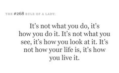 Rule of a Lady