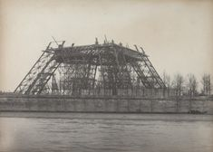 MoMA | Hippolyte Blancard. Untitled (construction of the Eiffel Tower). April 1889