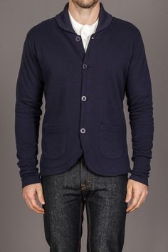 Max's Cotton Supply Benjamin Sweater w/ Elbow Patch
