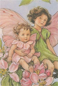 Flower Fairy  by: Cicely Mary Barker