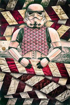Stormtrooper Manipulation by enzocavalli on DeviantArt Sci Fi Comics, Illustration Sketches, Good Old, Werewolf, Spiderman, Nerd, Star Wars, Deviantart, Quilts