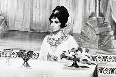 Elizabeth Taylor Cléopâtre Bijoux AU Tableau 24x36 Poster 60x91cm | eBay