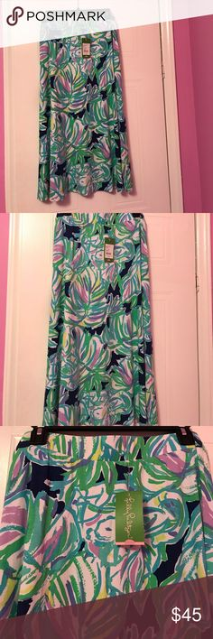 Lilly Pulitzer skirt Brand NWT Lilly Pulitzer skirt. Size small. Lilly Pulitzer Skirts Midi