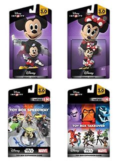 Disney Infinity 3.0 Edition: Mickey and Minnie Game Expansion Bundle - Amazon Exclusive: Video Games