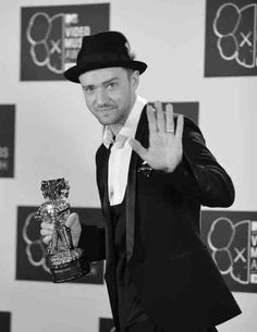 Justin Timberlake @ VMA 2013  Such a talented man