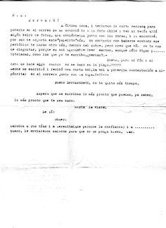 Carta escrita por el Sr. Ohmer a Bernardo Suárez Rincón. 25/06/51