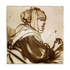 Saskia, 1633-1634 Giclee Print by Rembrandt van Rijn at Art.com