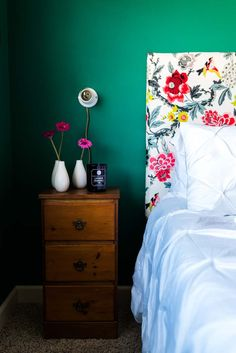 Before & After: A Colorful Guest Bedroom Makeover in the Midwest | Design*Sponge