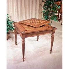 "Butler 36"" Vincent Multi Game Card Table & Reviews 