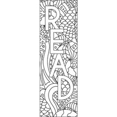 4 Mandala Colouring Bookmarks Set 1