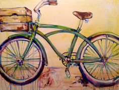Jessie St Clair - Green Bike