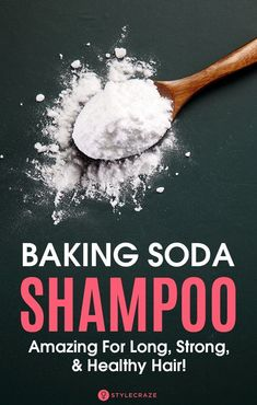 Baking soda, aka sodium bicarbonate, is undoubtedly one of the most versatile kitchen ingredients. Starting right from its usage in the pantry as an ingredient to bake food to being used for cleaning, baking soda is an all-purpose magical item. The best part – it can also be used as a cheap DIY alternative to many expensive beauty treatments. #shampoo #bakingsoda #hair #stronghair #haircare #BakingSodaShampooNaturalHair #VinegarBakingSodaCleaner #BakingSodaBeautyUses