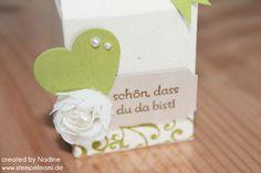 Give Away Hochzeit Stampin Up Verpackung Box Schachtel Goodie 011