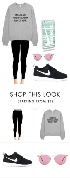 """""""Untitled #11"""" by hgdaniels ❤ liked on Polyvore featuring interior, interiors, interior design, home, home decor, interior decorating, NIKE and Oliver Peoples"""
