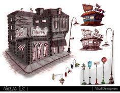 Nikolas Ilic: Designer / Visual Development Artist   Visual Development