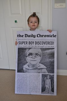 $3 personalized newspaper poster! GREAT BIRTHDAY GIFT