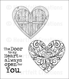Heartfelt Creations - Cling Stamp - Passage to my Heart PreCut Set,$15.99