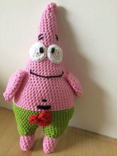 Patrick ster gehaakt.