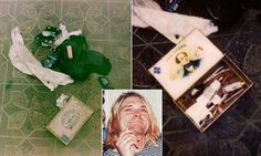 The tragic new pictures of Kurt Cobain's 1994 suicide scene #DailyMail