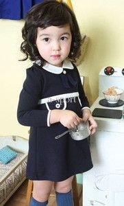 Retro School Days Toddler Dress