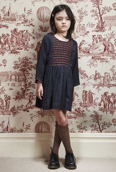 Inspiration for an Oliver + S Hide-and-Seek Dress sewing pattern