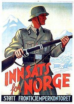 Hjelp til med å kjempe mot tyskerne.