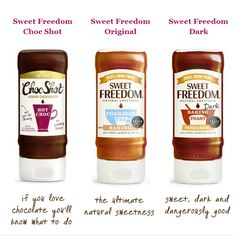 FREE Samples of Sweet Freedom Natural Liquid Chocolate - Gratisfaction UK Freebies #freebies #freebiesuk #freestuff