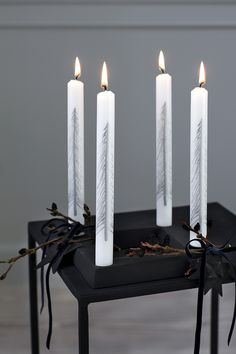 candles | Xmas decoration . Weihnachtsdekoration . décoration noël | Broste Copenhagen A/W15 | Styling:: Marie Graunbøl | Photo: Line Thit Klein |