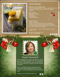 Handmade Holiday Holiday Gift Guide: Joan Morais Naturals, Kayla Fioravanti Beeswax Candles, Soy Candles, Holiday Gift Guide, Holiday Gifts, How To Introduce Yourself, How To Make, Handmade Soaps, Soap Making, The Balm