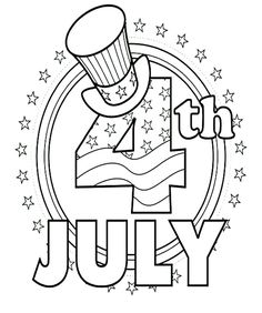 23 Patriotic Activity Coloring Pages To Help Kids Celebrate 4th Of July