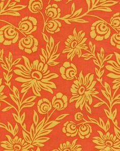 Yellow & orange floral