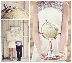 Save The Date Vintage Comp Rose Luggage Tag Magnet For Destination Wedding Design Fee Magneti Bussola E Destioni