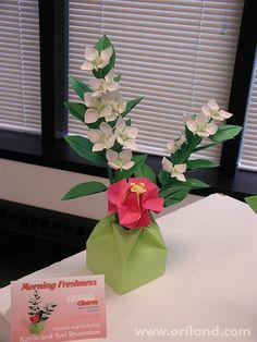 Oribana - Paper Flower Arrangement