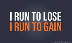I run to gain. #motivation #fitness #workout #p90x #juliomedina #shakeology