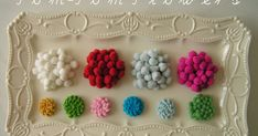 Do you have any pom-pom trim leftovers from other projects? Usually I buy them by the yard, and use them for a project, and have several in...